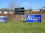 Allen Campaign Sign